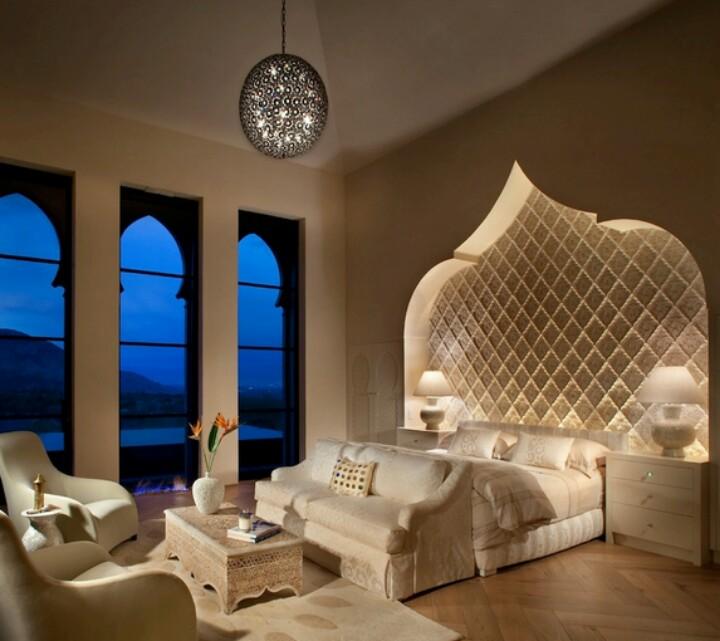 ديكور مغربي غرف